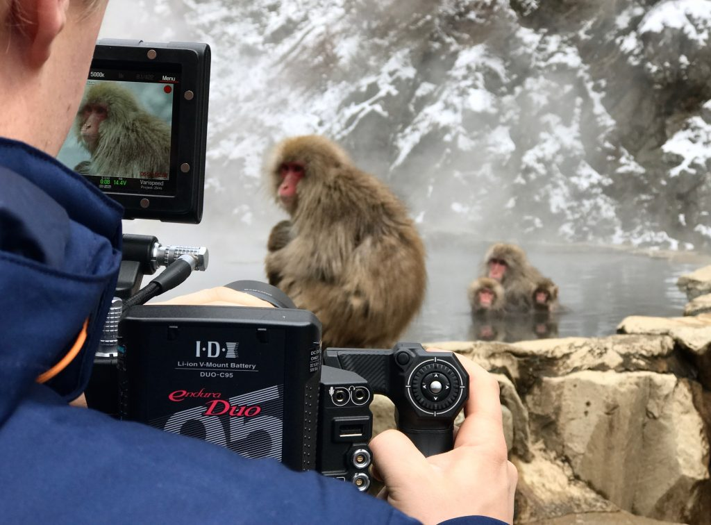 Japanese alps filming RED Epic
